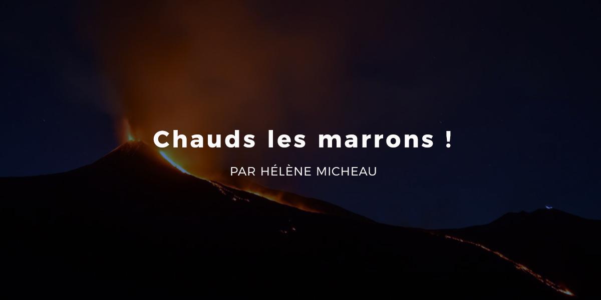 CHAUDS LES MARRONS !