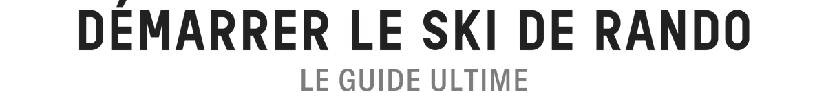 GUIDE ULTIME