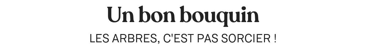 UN BON BOUQUIN