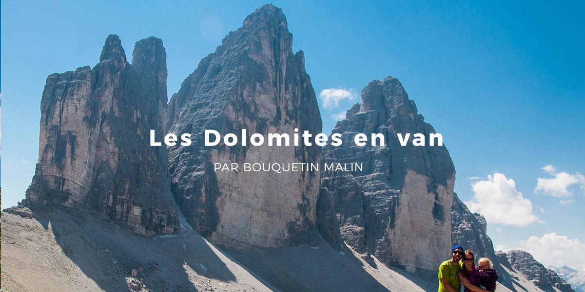 LES DOLOMITES EN VAN