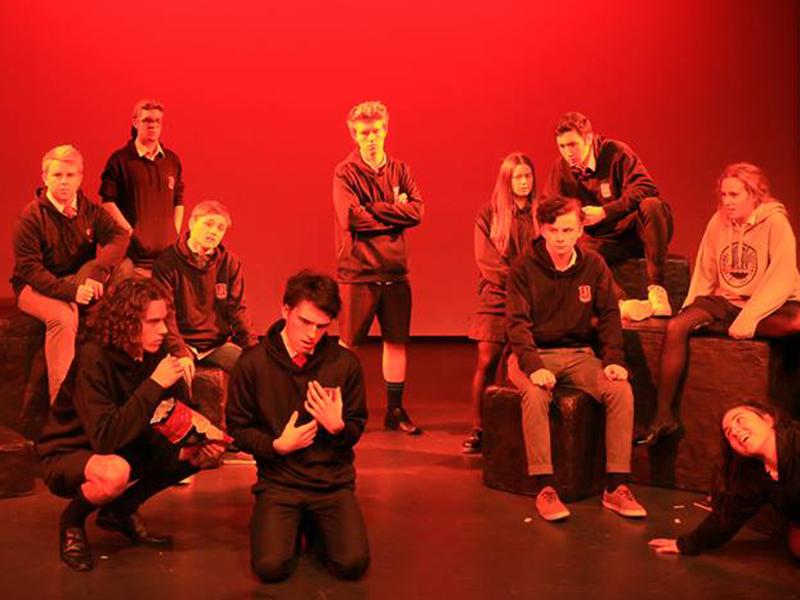 Kristin School Drama Class
