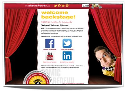 Backstage Website