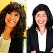 Idoia Postigo y Susana Zaballa