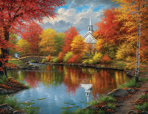 Autumn Tranquility 1000+ Jigsaw puzzle