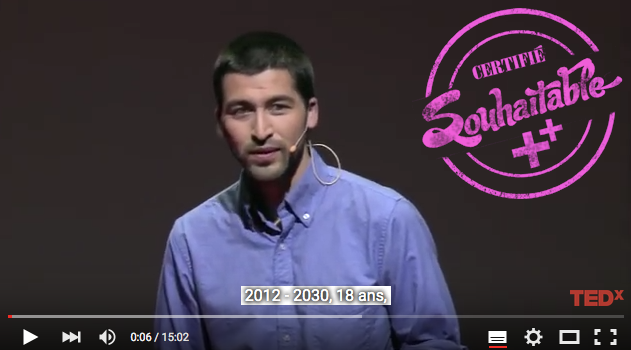 TEDxParis 2012 - César Harada - Protéger les océans pour un autre anthropocène