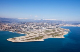 Private jet charter to Nice Cote d'Azur