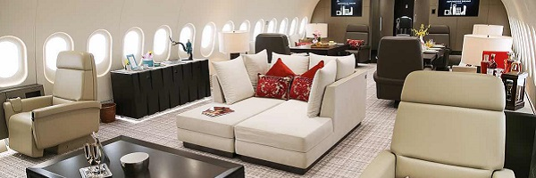 Dreamliner as a private jet