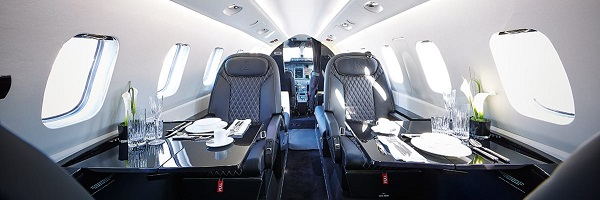 Piaggio Avanti Evo cabin interior