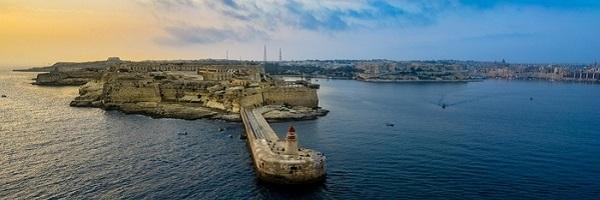 Private jet charter to Malta