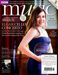 BBC Music Magazine cover-Weilerstein