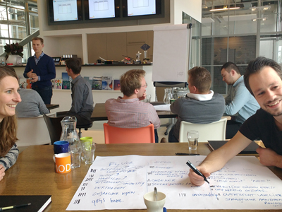 Communicatie training bij Spark