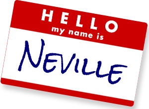 Hello, my name is Neville