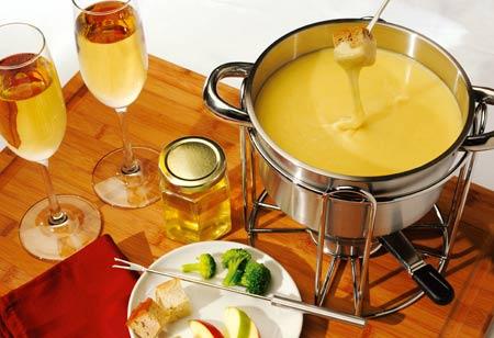 Honey Champagne Fondue