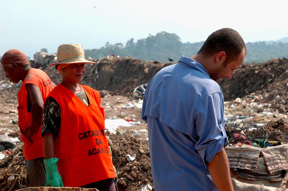 Dokumenttielokuva on tuonut brasilialaisille jätteenkerääjille tuloja.