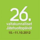 Valtakunnalliset Jätehuoltopäivät 10.-11.10.2012