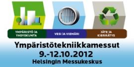 Ympäristö, yhdyskunta, vesi ja viemäri, jäte ja kierrätys 2012