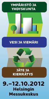 Ympäristö ja yhdyskunta, vesi ja viemäri, jäte ja kierrätys 2012