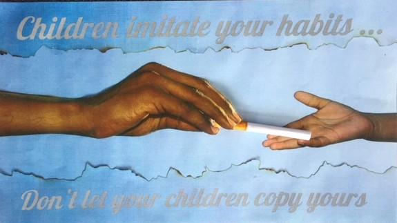 Kasia Broughton's winning smokefree poster.