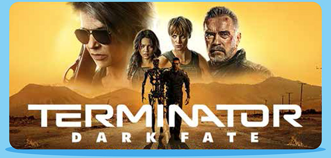 Terminator: Dark Fate Movie Released