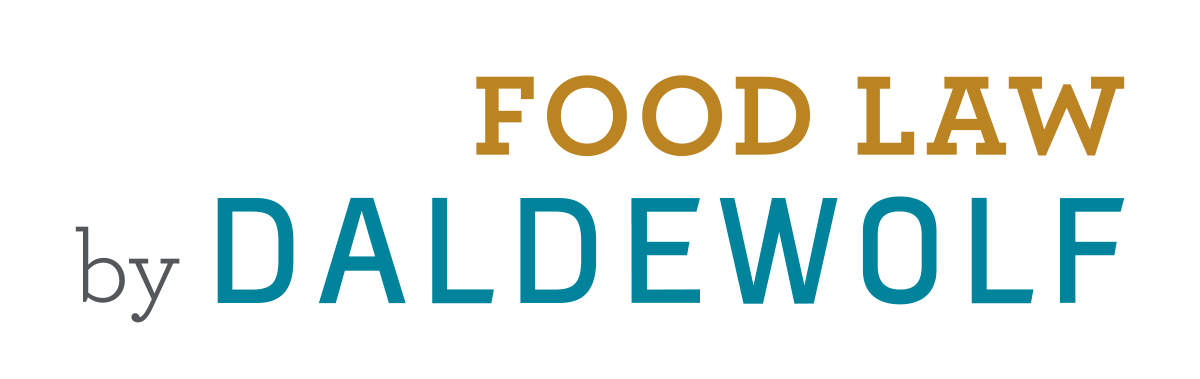 Food Law by DALDEWOLF | logo 2019