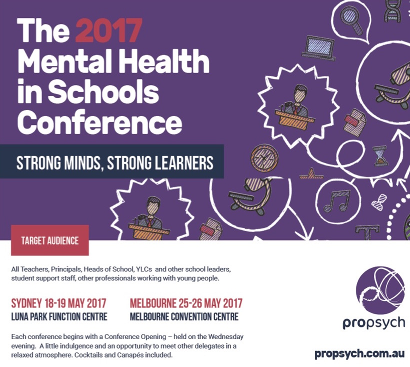 The 2017 Mental Health in Schools Conference