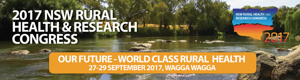 NSW Rural Health and Research congress