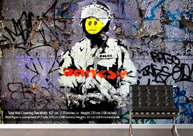 Police Banksy Wallpaper