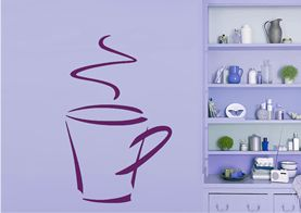 Cup Of Coffee Wallsticker