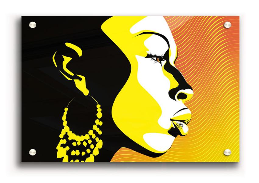 Ethic Acrylic Print African