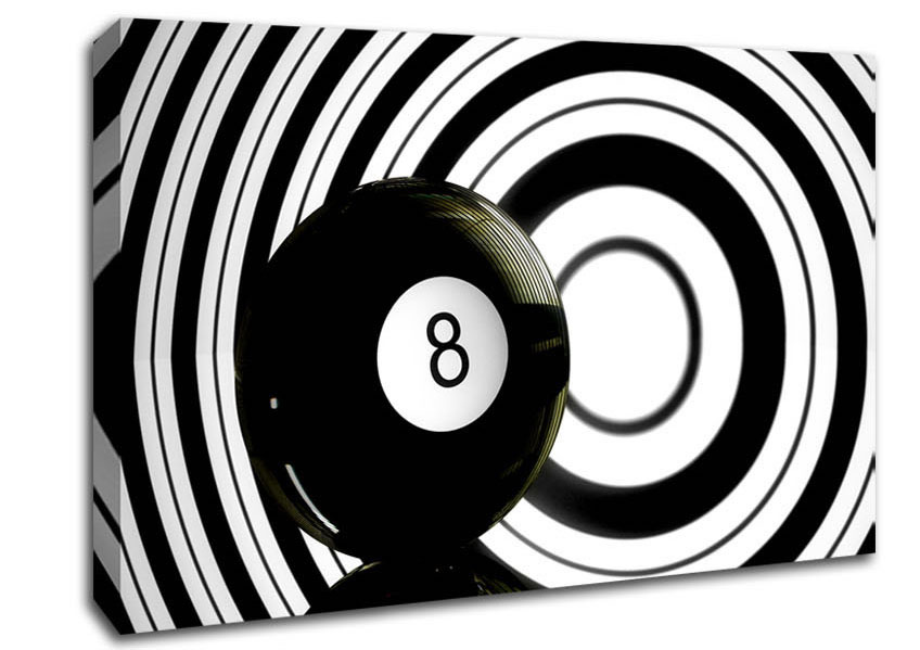 8 Ball Canvas