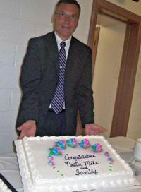 Mike Hamilton, pastor at First Brethren Church, Buena Vista, Va.