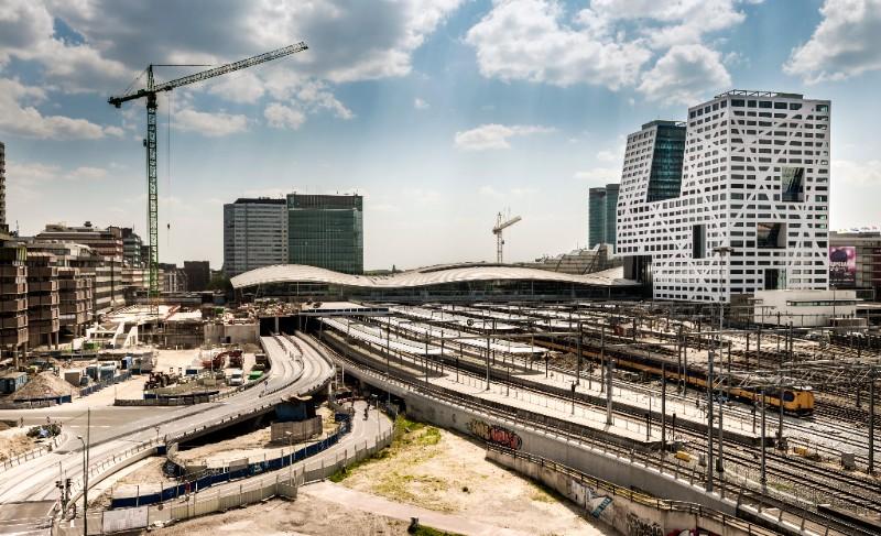 Utrecht Centraal, mei 2016