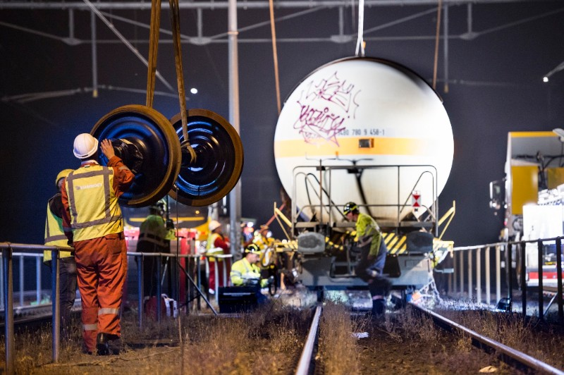 Fotoblog: reparatie LPG wagon Breda