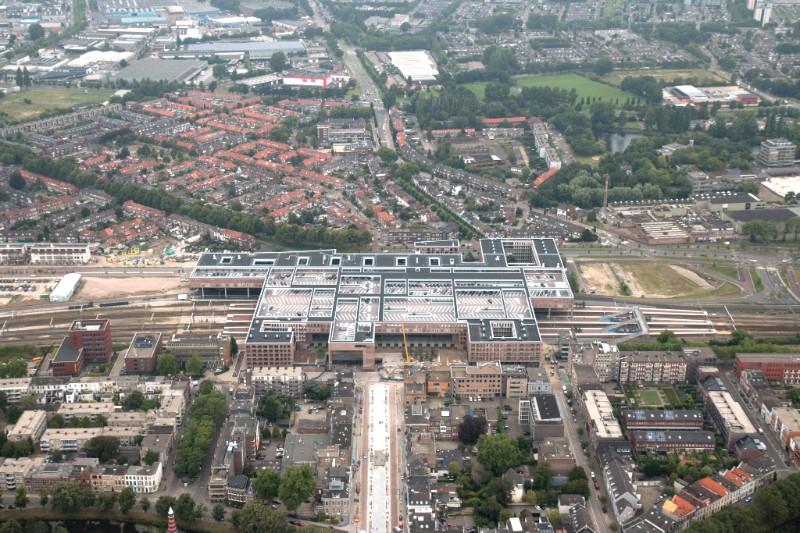 Wow, Breda vanuit de lucht