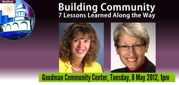 Building Community: Laurie Benson, Margaret Bomber