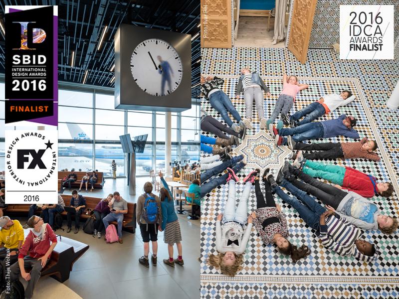 Foto Lounge 2, door Thijs Wolzak, en ZieZo Marokko, door Ivar Pel