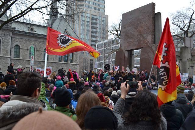Women's March to Washington—Ottawa