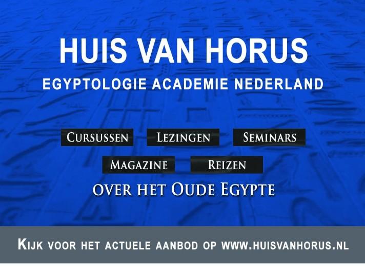 Advertentie Huis van Horus