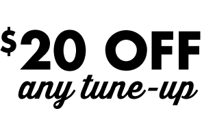Save $20 on any tune-up