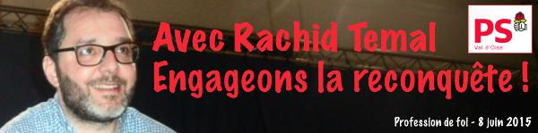 Avec Rachid Temal, engageons la reconquête !