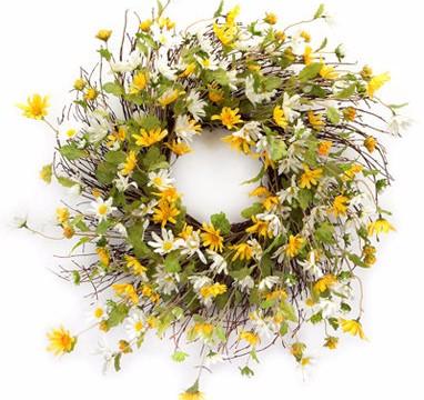 Daisy Wreath