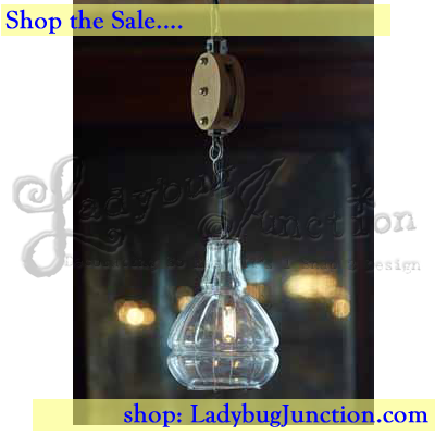 Pulley Pendant Light Fix