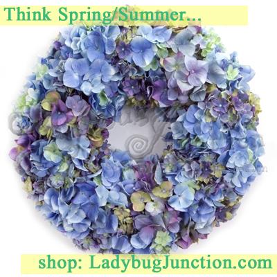 Hydrangea Blossom Wreath