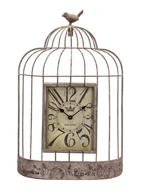 Birdcage Wall Clock
