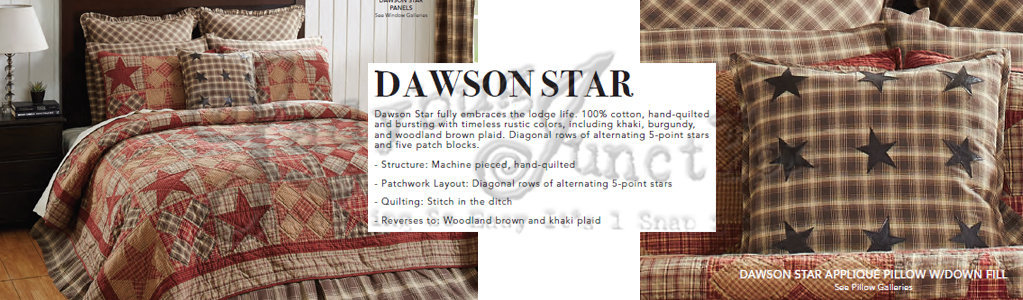 Dawson Star by VHC Brands Bed | Bed | Window at Ladybug Junction