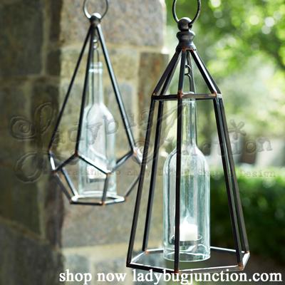 Hanging Tea Light Holders Set of 2