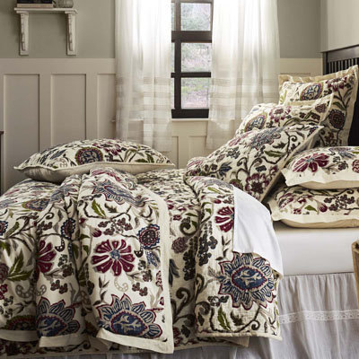 Hope Classic Floral Bedding from VHC Brands