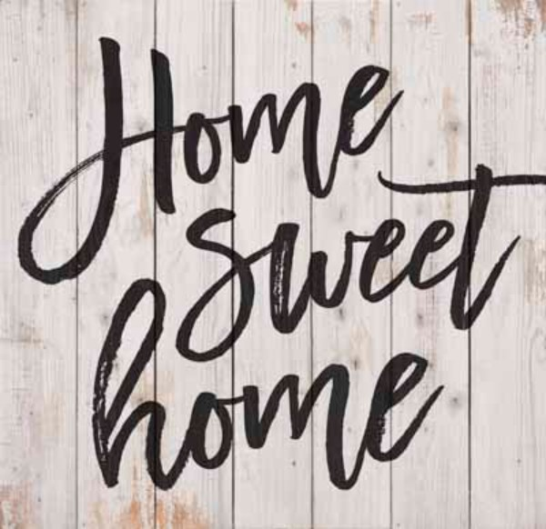 Home Sweet Home Pine Pallet Board Wall Decor