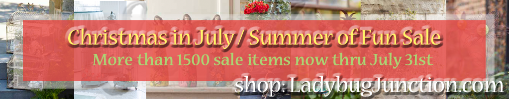 Christmas in July - Summer of Fun Sale!