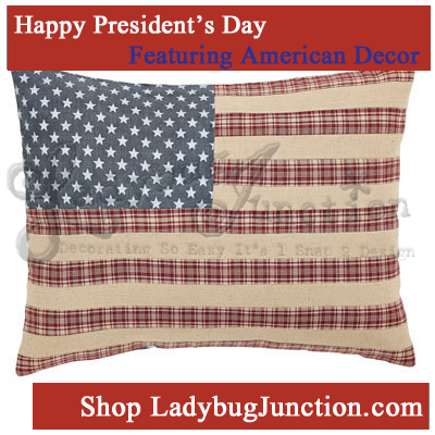 Independence Flag Pillow Cover 14x18